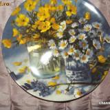 Farfurie decorativa WEDGOOD ~~ MEADOW BOUQUETS ~~