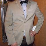 Sacou barbatesc casual - smart - elegant bej / marimea 48. - Sacou barbati