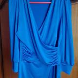 Bluza Orsay NOUA - Bluza dama, Maneca 3/4, Club, Gri, Poliester