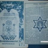 DEZVALUIRI SENZATIONALE referitoare la actiunile si planurile satanice ale FRANCMASONERIEI MONDIALE - Istorie
