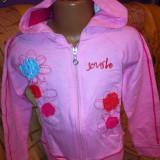 Hanorac/haine fetite/copii 5-7 ani,6-8 ani roz,NOU-12 ron
