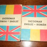 Dictionar roman englez si englez roman