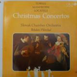 Disc vinil vinyl pick-up LP OPUS 1987 CHRISTMAS CONCERTOS  Torelli Manfredini Locatelli rar vechi colectie