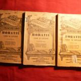 Horatiu - Ode si Epode vol 1, 2 si 3, Ed. Alcalay BPT nr.1321-1325 - Carte veche