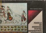 (C992) MODELE DE BRODERIE PENTRU ORNAMENTATIE INTERIOARA DE ELVIRA ZAMFIRESCU-TALIANU