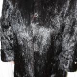 Haina blana nutrie, Marime: XXXL, Culoare: Negru