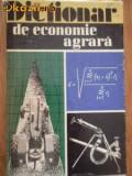 Dictionar de economie agrara - dr ing Serghie Hartia - ed Agrosilvica (C217), Alta editura