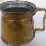 Cana veche din alama - de colectie - Metal/Fonta