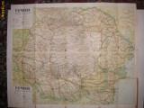 Romania - Harta turistica - 1939