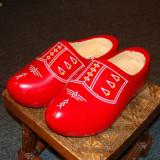 Pantofi lemn folclor olandez nr38