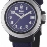 Lacoste L4000L28 ceas dama, 100% veritabil. Garantie.In stoc - Livrare rapida., Quartz, Otel, Material textil, Analog