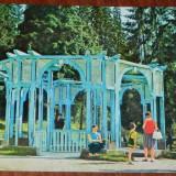 carte postala BORSEC IZVOR DE APA MINERALA, CIRCULATA, 1971