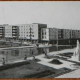 carte postala JUDETUL BUZAU - VEDERE DIN BUZAU  CIRCULATA, 1965