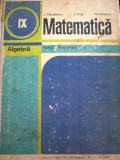"""C. Nastasescu - Matematica Algebra clasa a IX a """"1506"""""""