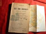 Simion Mehedinti - Cele 5 Continente - ed. 1923