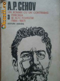 A. P. Cehov - Un roman cu un contrabas * Fericirea si alte povestiri ( Opere, vol. III ), 1989