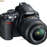 Vand Nikon D3100 + 18-55 VR + accesorii