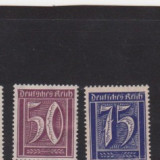 Germania Reich 1921-1922 -5 buc.nestampilate