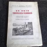 C . N . Iliescu Brasov - Ce este tuberculoza pulmonara ? - interbelica - Carte de aventura