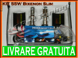 KIT BIXENON SLIM TYPER 55W - H4 - 4300K, 5000K, 6000K, 8000K