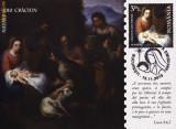 Carte maxima Nasterea Domnului Isus Hristos, copie tablou - Scoala Murillo