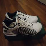 Adidasi lacoste - Adidasi barbati, Marime: 36.5, Alb