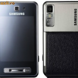 Samsung F480 - Telefon Samsung, Negru, Neblocat, Touchscreen, 240x320 pixeli (QVGA), 256K