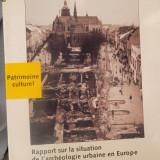 CARTE IN FRANCEZA-RAPPORT SURLA SITUATION DE L'ARCHEOLOGIE URBAIN EN EUROPE - Carte de lux