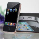 Telefon 4G19 Replika dual sim - Telefon mobil Dual SIM, Negru, Neblocat, Touchscreen