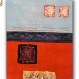 Tablou Abstract 43 - ulei pe panza 60x50cm MODERN - Tablou autor neidentificat
