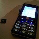 Sony ericsson k810i - Telefon mobil Sony Ericsson, Negru, Neblocat, Clasic, 240x320 pixeli (QVGA), 256K