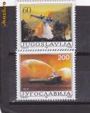 Transport pentru incendii Jugoslavia.