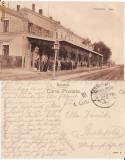 Craiova-Gara (1917)-cenzura militara WWI, WK1, Circulata, Printata