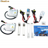 Kit xenon Slim DC H1, H3, H4-2, H7, H11, H27, 9005, 9006, D2S, D2R, D2C, 35W, 4300 K, 6000 K, 8000K, Kit xenon h1, NSSC Lighting