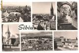 Carte postala(ilustrata)-SIBIU-colaj