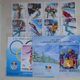 LP 1274-6 J O DE IARNA ALBERTVILLE 1992 - Timbre Romania, Nestampilat