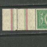Germania 1921 - UZUALE, timbru nestampilat cu TABS