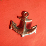 Insigna de Marina - Ancora, metal, 3, 2 cm