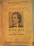 M.EMINESCU - POEZII - EDITIE INGRIJITA DE ALEX. CORIOLAN - ED CUGETAREA