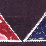 1936 Olanda Mi. 295-296 stampilate