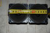 Difuzoare de banda larga cu suspensie de cauciuc ITT LPB 80/19/80 S