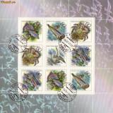 bloc timbre rusia animale marine 1993