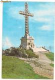 Carte postala(ilustrata)-BUCEGI-Monumentul eroilor de pe Caraiman