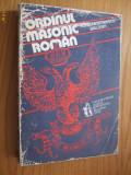 ORDINUL MASONIC ROMAN - Horia Nestorescu-Balcesti  --   [ 1993, 623 pp,  ]