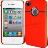 HUSA, TOC TELEFON iPHONE 4 4S +FOLIE DE PROTECTIE ECRAN - Husa Telefon Apple