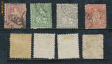 RFL 1862-1881 Elvetia lot 4 timbre stampilate rare Helvetia Michel 3.395 euro, Stampilat