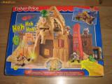 Joc copii (baieti), Piramida, mumii, figurine si  comori ascunse (Fisher Price)