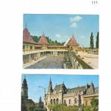 Lot 2 CP - Ilustrata : Oradea / RSR - Necirculate / F143, Necirculata, Printata, Romania de la 1950
