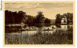 328 - SIBIU, Lacul Dumbravei - old postcard - unused - 1937