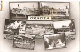 CPI (B602) ORADEA, MOZAIC, BAILE 1 MAI, SALONTA, EDITURA CPCS, CIRCULATA, 1959, STAMPILE, TIMBRE, Fotografie